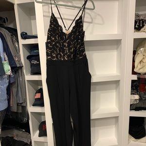 Express lace jumpsuit
